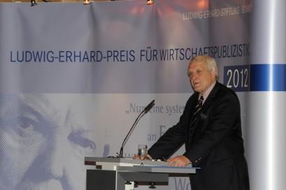 Dr. Josef Joffe bei seiner Ansprache