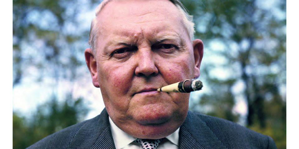 Der Dicke mit der Zigarre