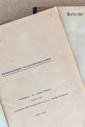 """Ludwig Erhards Denkschrift """"Kriegsfinanzierung und Schuldenkonsolidierung"""" – Eine Studie zum Schuldenabbau nach dem Zweiten Weltkrieg"""