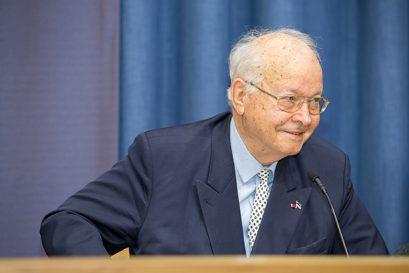 Dr. Herbert B. Schmidt, Ehrenmitglied der Ludwig-Erhard-Stiftung