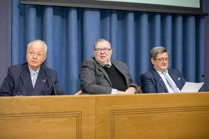 Dr. Herbert B. Schmidt, Dr. Mart Laar, Roland Tichy