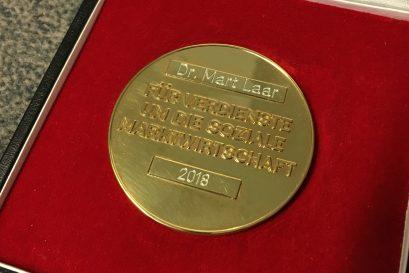 Ludwig-Erhard-Medaille für Verdienste um die Soziale Marktwirtschaft
