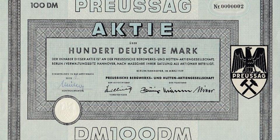 """Ludwig Erhard und die """"Volksaktie"""""""