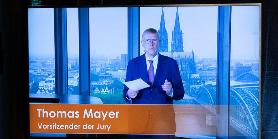 Grußwort des Jury-Vorsitzenden